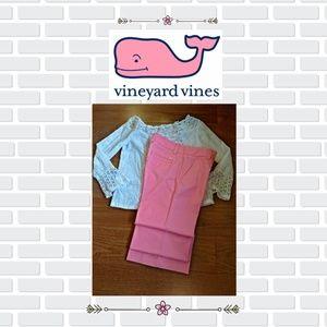Vineyard Vines Wide Leg Pants Size 8